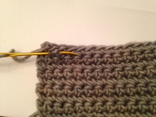 How to turn your work and fasten off in crochet