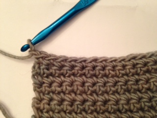 Turning in Crochet