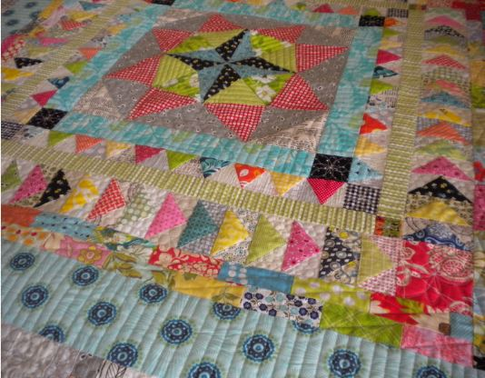Beautiful Marcelle Medallion Quilt