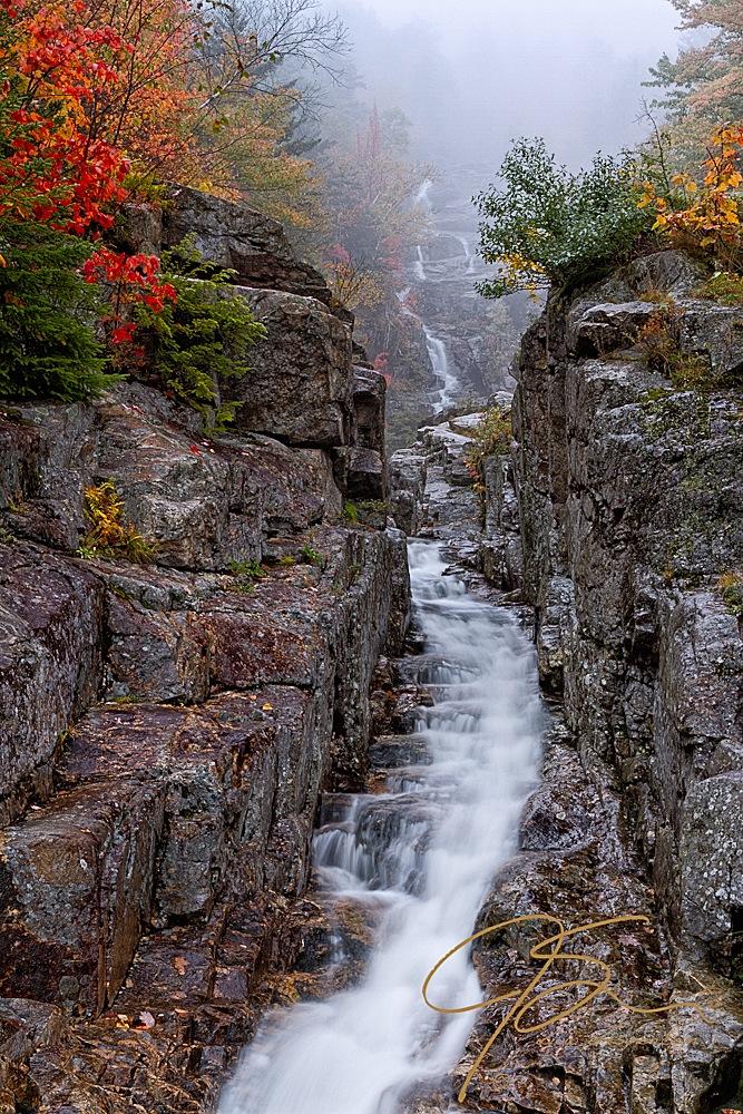 Showcase Waterfalls Vertically