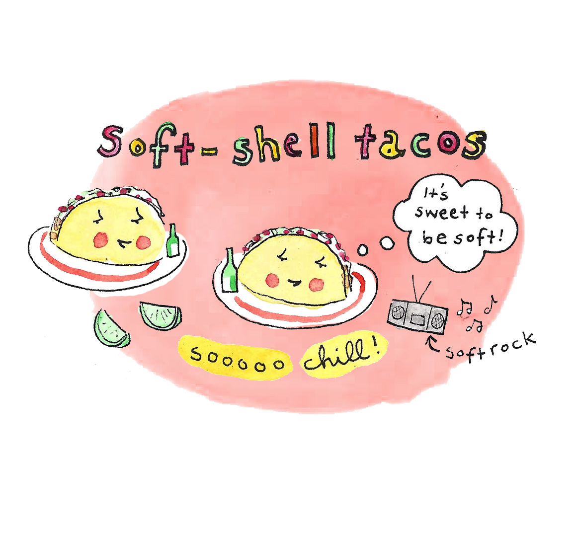 Soft-shell tacos