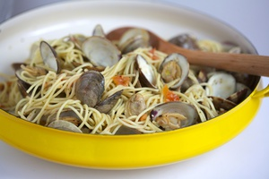 Spaghetti With Clams - Recipe Available