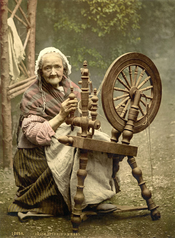 Irish Spinning Wheel