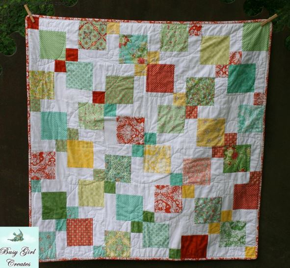 Stitch and Slice Baby Quilt Pattern