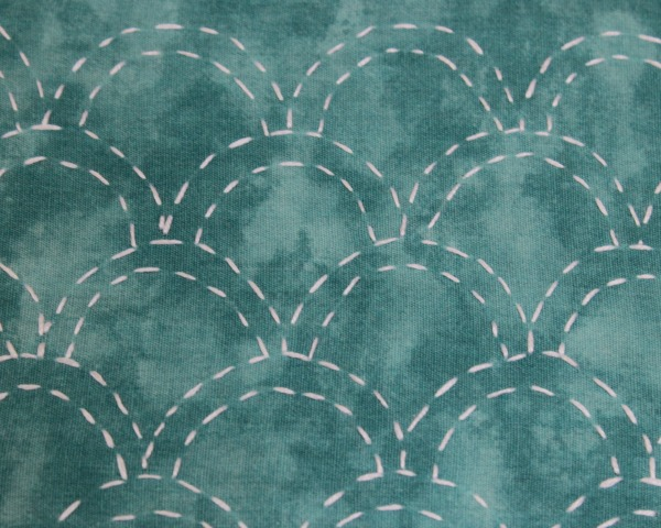 Detail of Sashiko Stitching