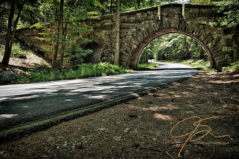 Stanley Brook Drive in Acadia National Park