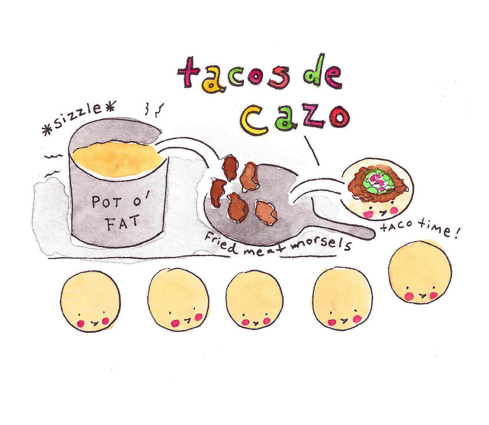 Tacos de cazo - Bluprint