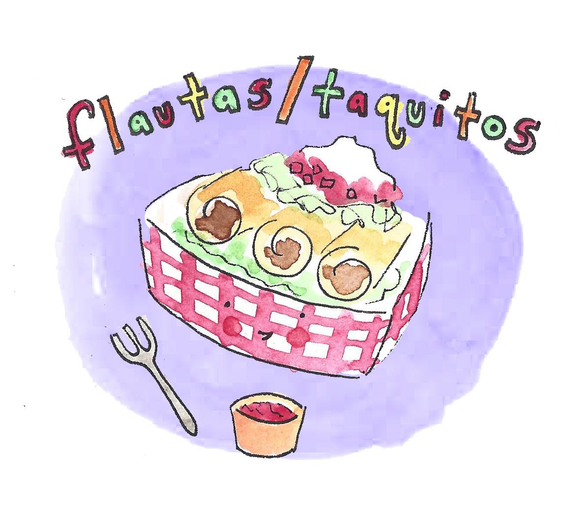 Flautas / taquitos