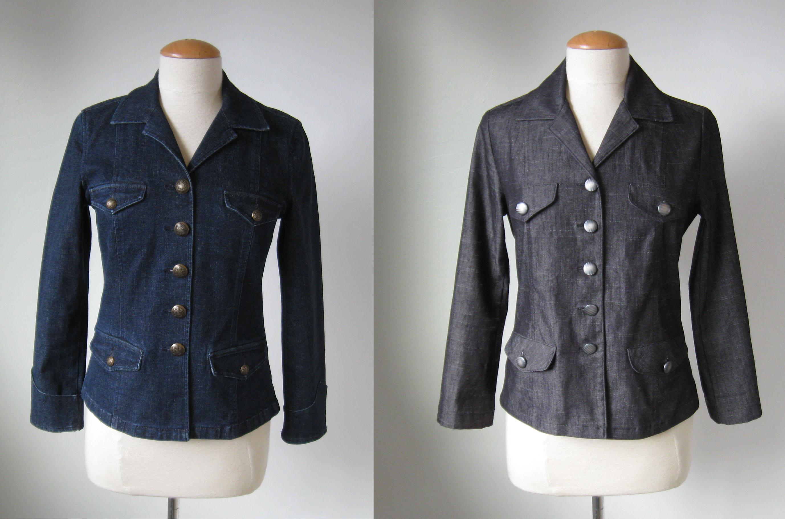 Two denim jackets