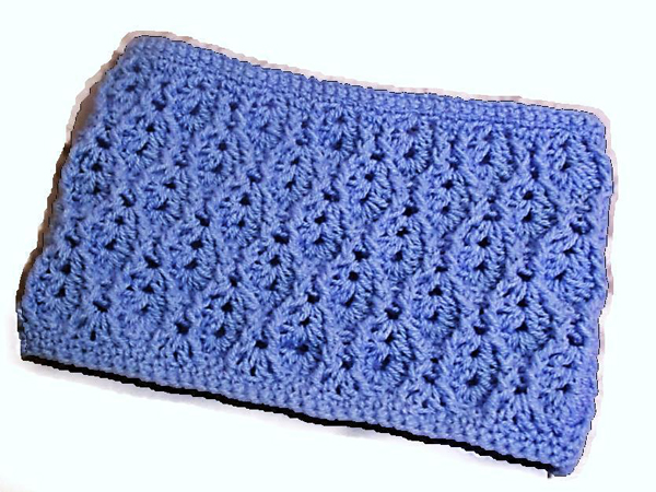 Textured Lacy Cowl to crochet