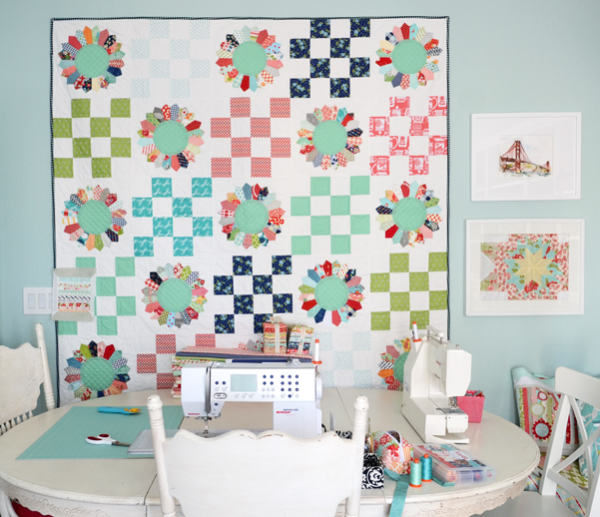Field Day Quilt Using Playful Piecing!