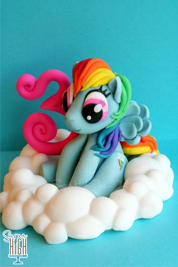 My Little Pony Fondant Topper