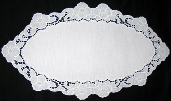 Advanced Embroidery Cutwork Lace Primrose design