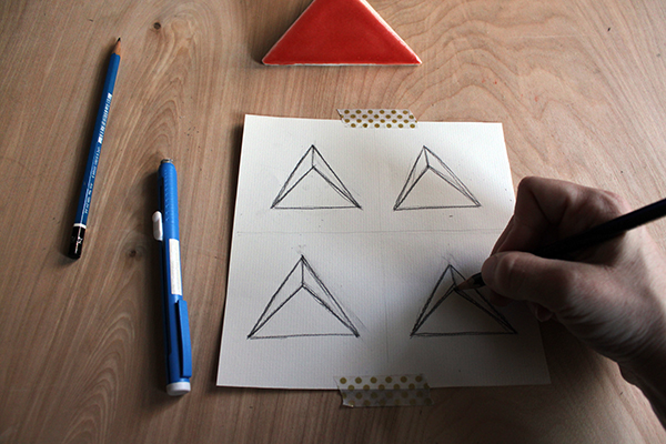 Drawing triangle shapes