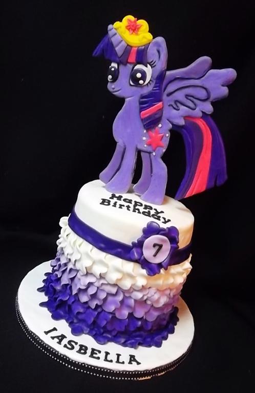 My Little Pony Petal Cake