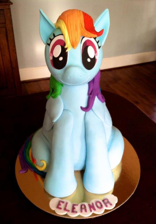 My Little Pony 3d Cake