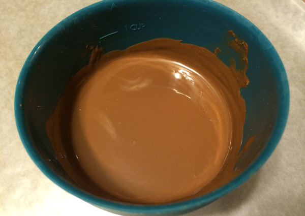 brown candy coating
