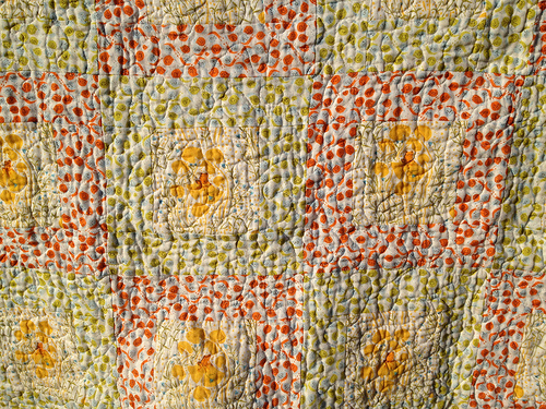Colorful Double Gauze Baby Quilt