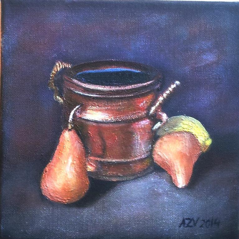 Acrylic Still Life Painting