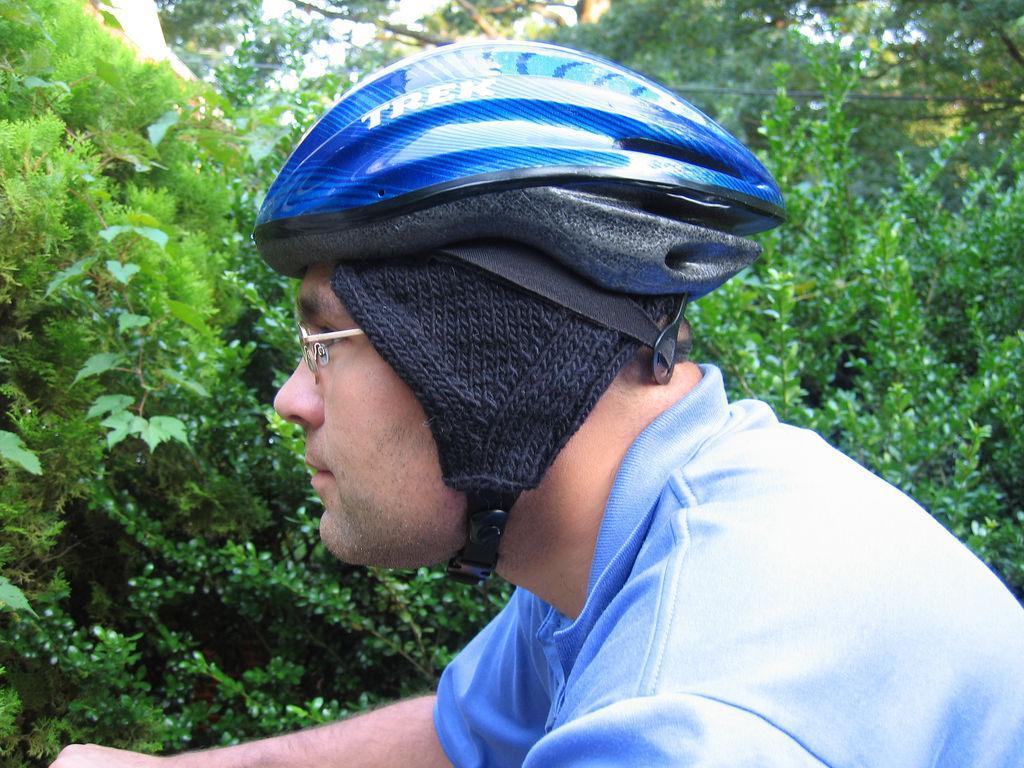 Bike Helmet Ear Warmer