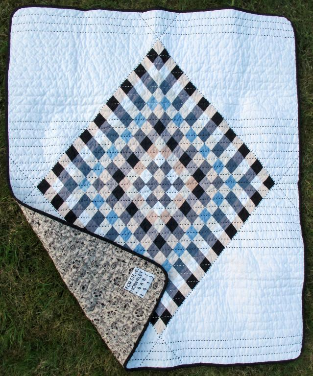 Calico Diamond Quilt Pattern