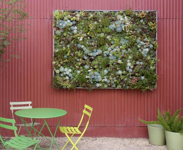 DIY Succulent Panel