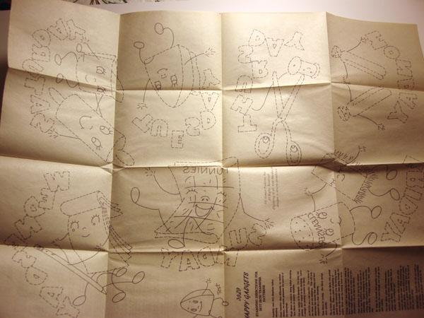 Fun vintage Aunt Martha's pattern