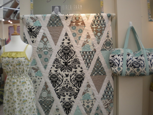Joel Dewberry display in Free Spirit Booth