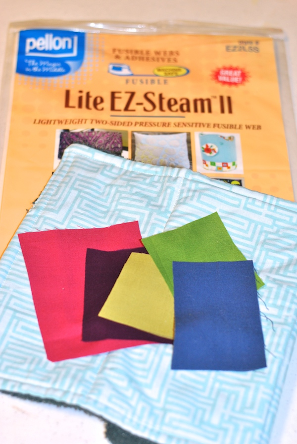 Lite EZ-Steam II Fusible and Quilted Burp Cloth