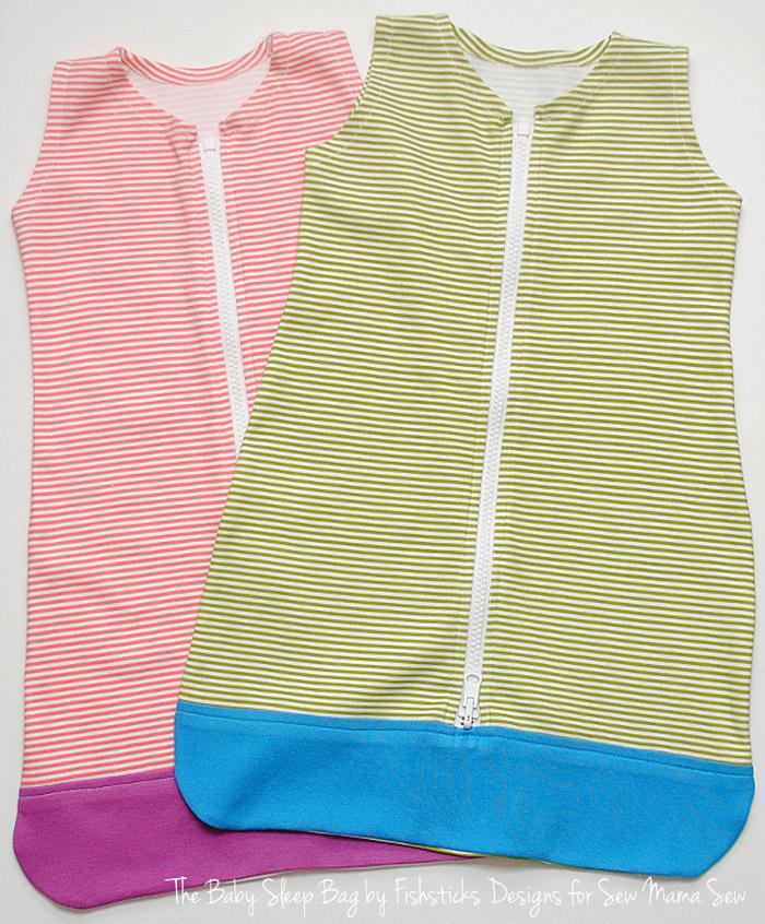 Sweet Baby Sleep Bag Sewing Pattern