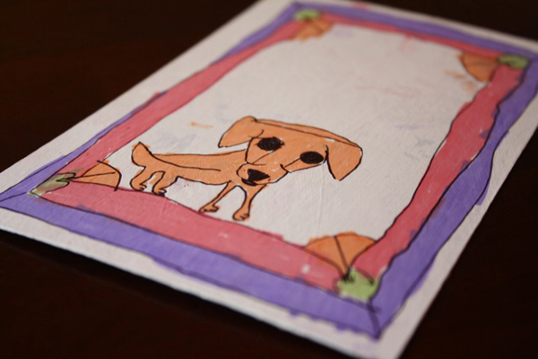 Handmade Kid's Card