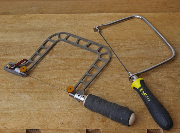fret saw and coping saw