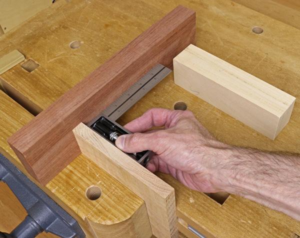 squaring the alignment block