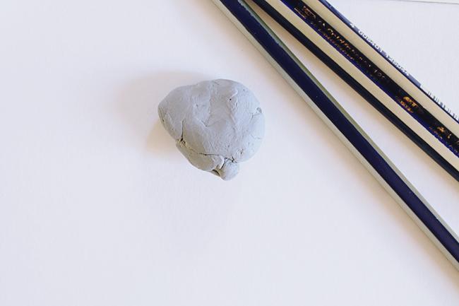 Artist's kneaded eraser