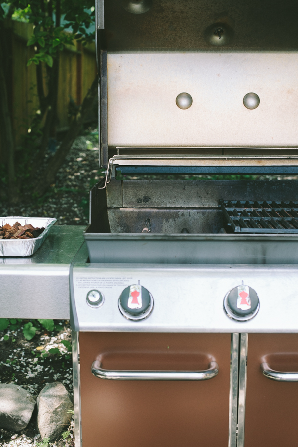 Prepping your gas grill