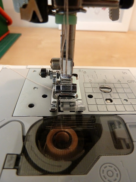 Fitting your machine with a double needle