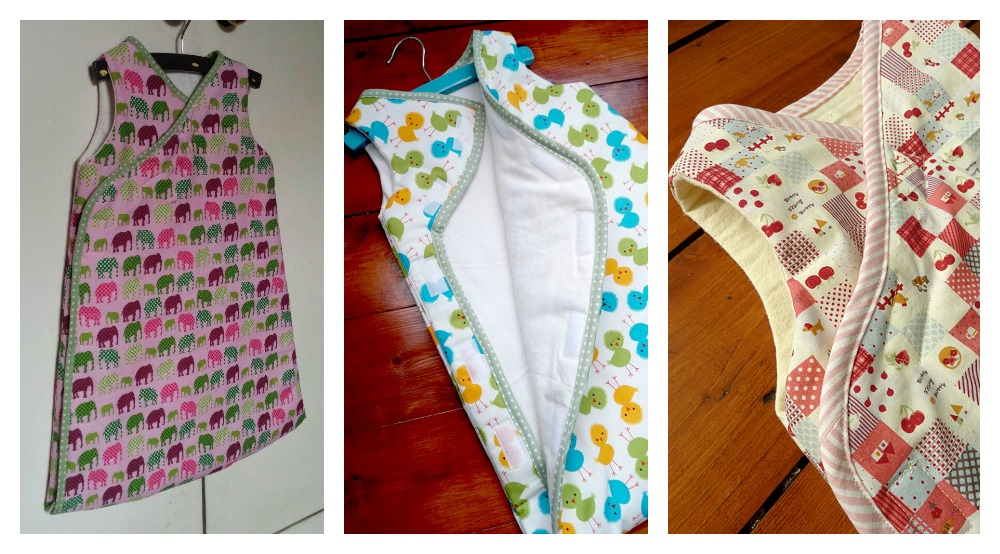 Quilted Baby Sleep Sack Pattern