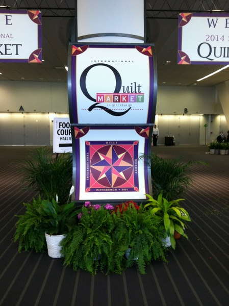 Quilt Market Spring 2014 in Pittsburgh