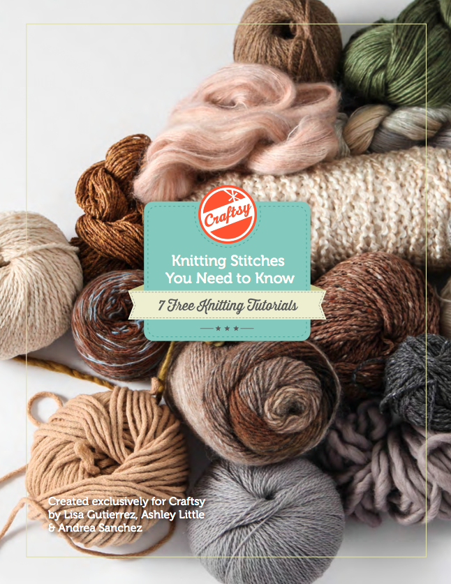 Knitting Stitches You Need to Know: 7 Free Knitting Stitches