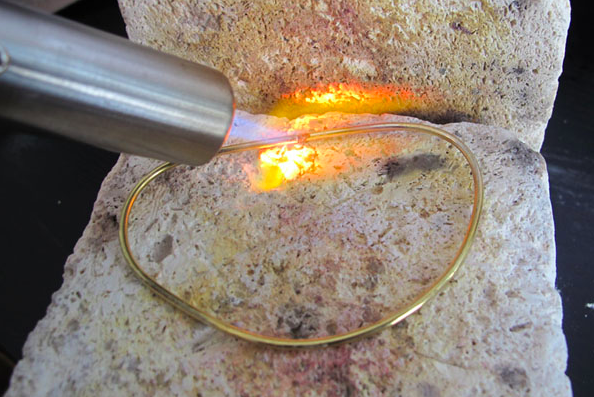 Using a Micro Torch to Bend Wire for Jewelry Making
