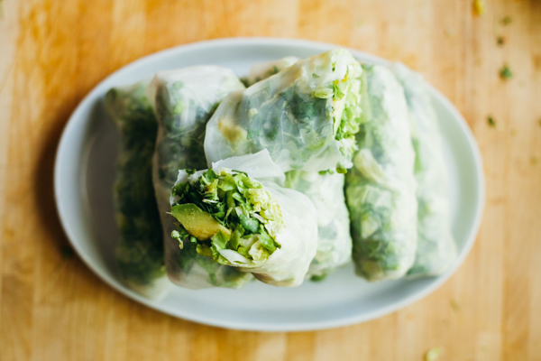 Fresh, Delicious Hand-Rolled Vietnamese Spring Rolls