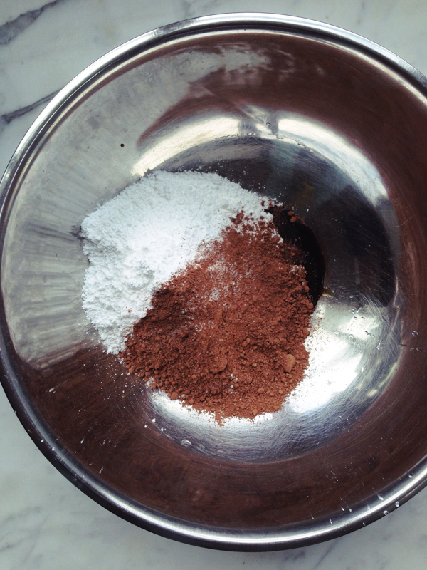 Mix for Baked Chocolate Doughnuts