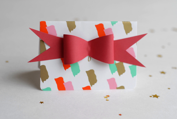 How to Make Paper Bows Tutorial