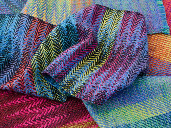 Selection of handwoven samples