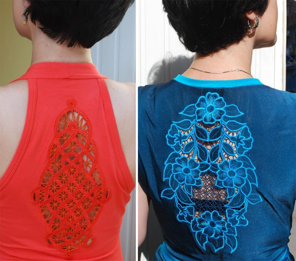 cutwork lace insert shirts by advanced embroidery