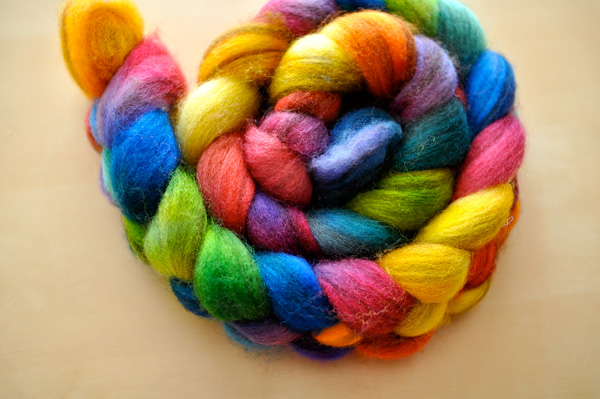 colorful roving