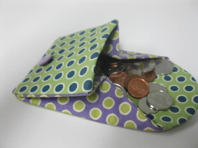 Berry Birdy's Coin Purse / Wallet PDF Pattern