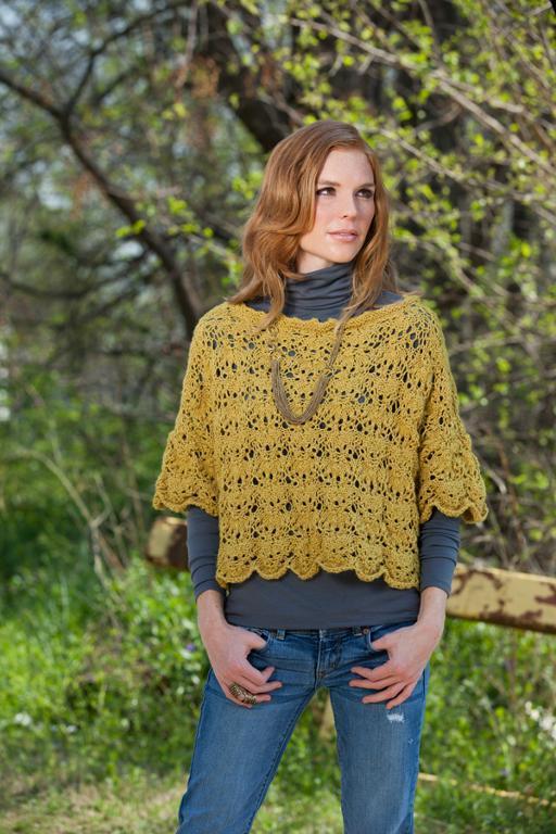 Knit summer callop sweater
