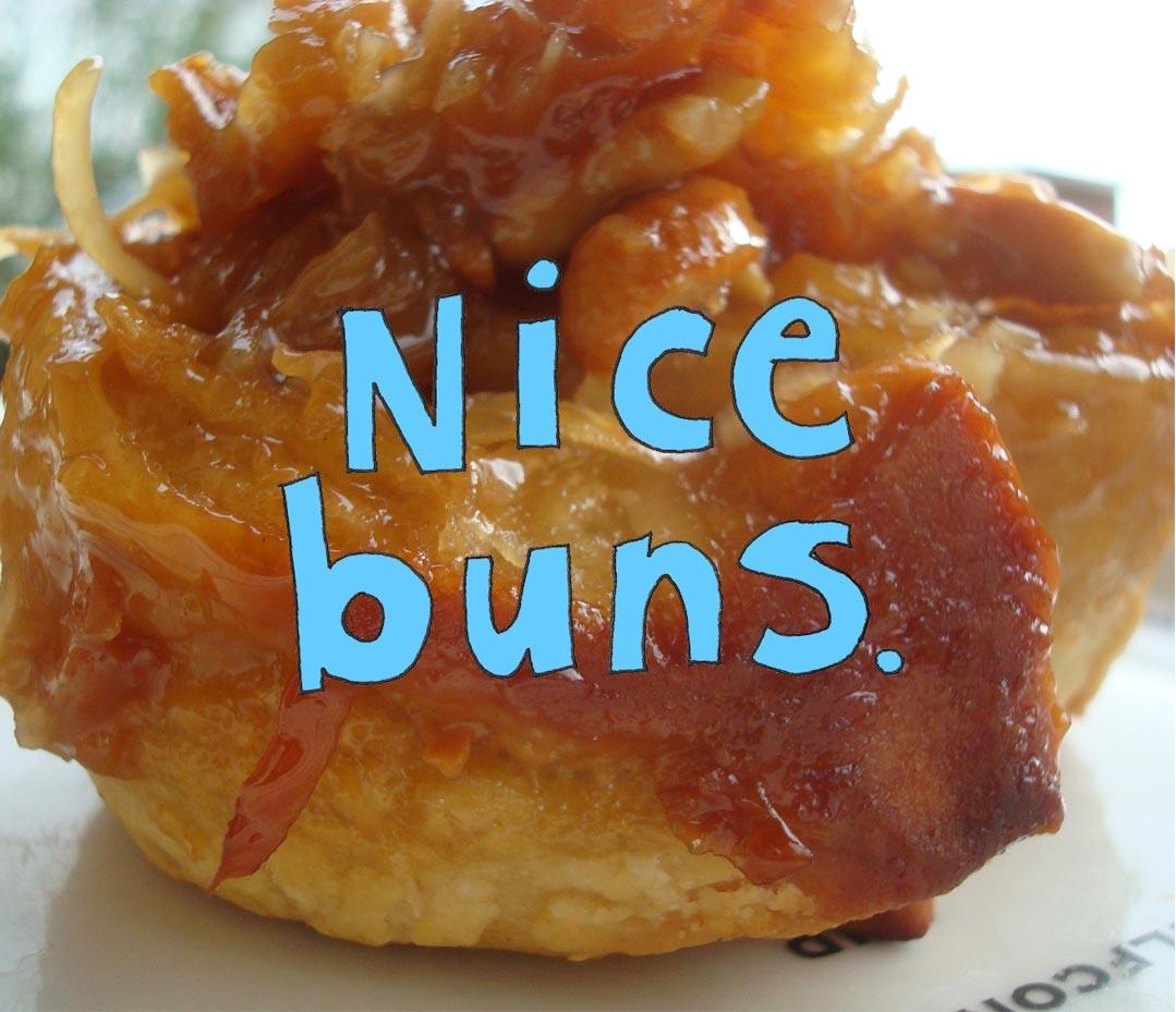 Nice buns: delicious sticky bun