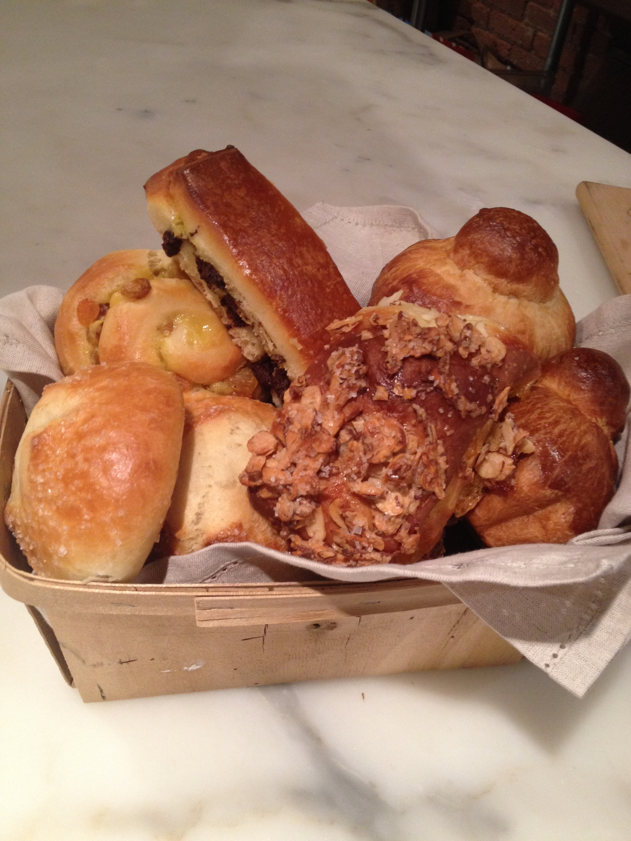 Basket of Brioche Buns